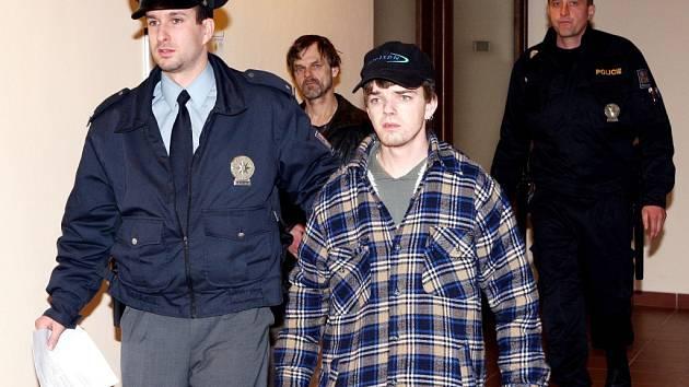 David Kostiha u soudu.