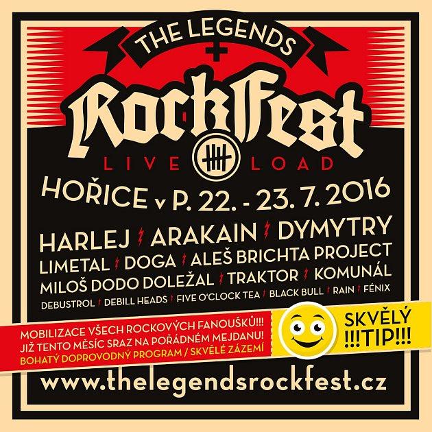Rockfest vHořicích - program 2016.