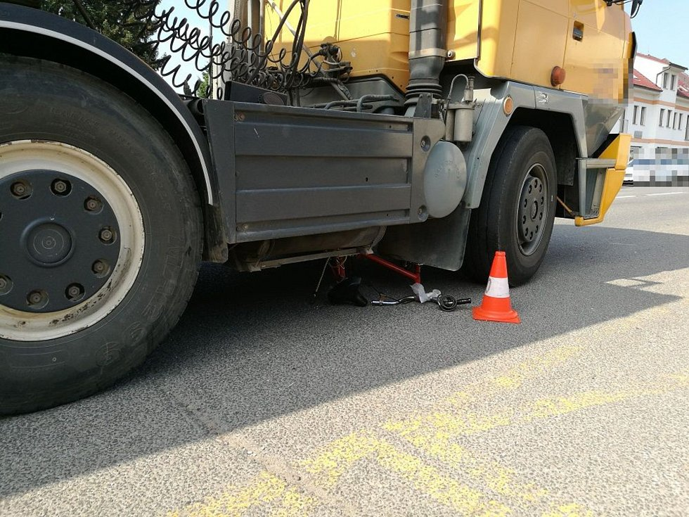 Tragická dopravní nehoda.v Hořicích.
