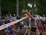 Volejbalová Dřevěnice - nedělní část.