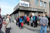 Ze šestého setkání Karosáků v Hořicích.