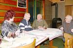 Výroční schůze členů okresního klubu PTP.