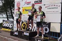 Mistrovství ČR handicapovaných cyklistů v Lenešicích.