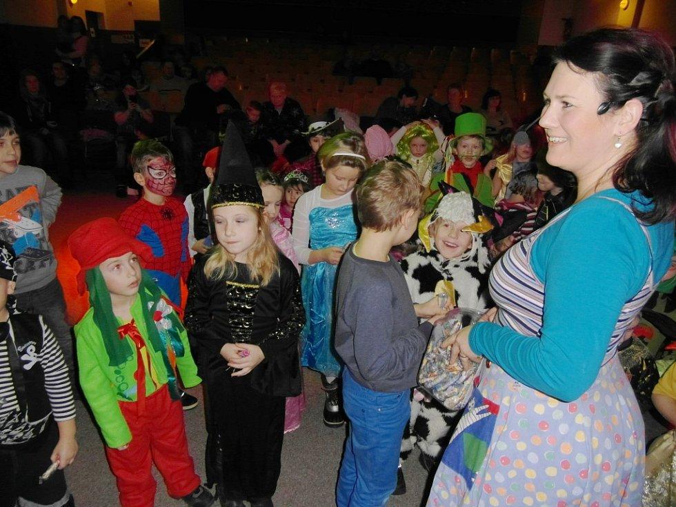 Dětský karneval v Nové Pace.