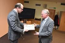 Vyhlášení výsledků krajského kola v Hradci Králové.