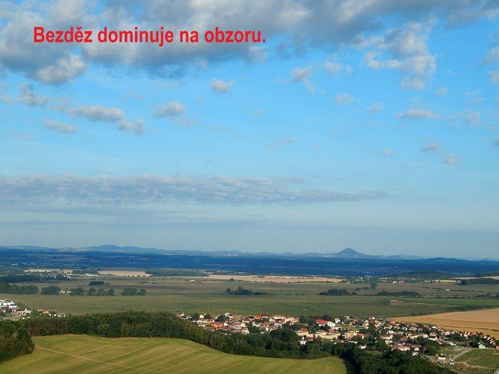 Z výletu balonem nad Českým rájem.
