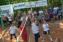 Dřevěnické volejbalové turnaje.
