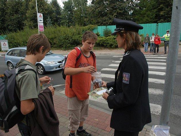 Celostátní policejní akce Zebra také v Jičíně.