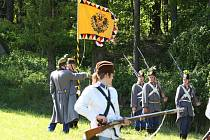Historická vojska na Prachově.