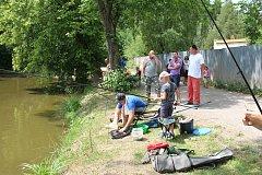 Rybářské závody pro děti i dospělé na rybníku Zaďák.