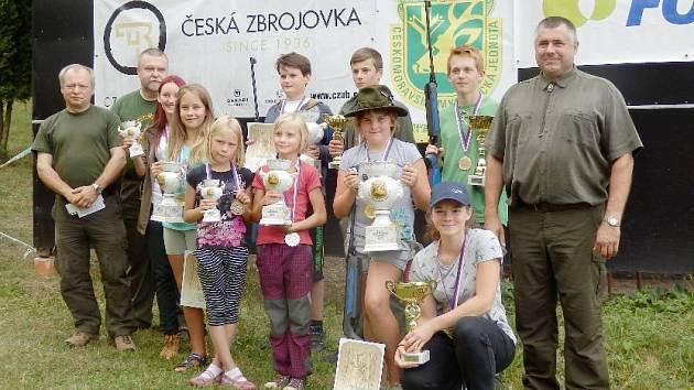 Z přeboru ČMMJ Vzduchovka mládeže 2015.