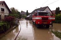 Záplavy na Rychnovsku.