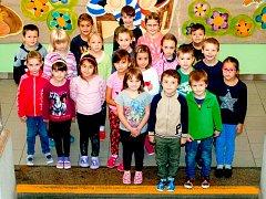 Žáci 1. B ze Základní školy 17. listopadu v Jičíně