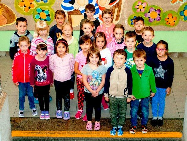 Žáci 1.B ze Základní školy 17.listopadu vJičíně