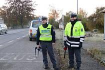 Jičínští policisté čekali ve Kbelnici na cyklisty marně, v době akce neprojel ani jeden.