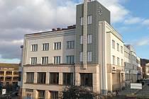 Budova Komerční banky v Nové Pace.