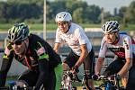 Daniel Polman na cyklistické čtyřiadvacetihodinovce.