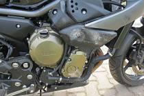 Motorkář střetu nedokázal zabránit.