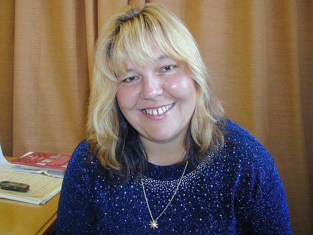 Účastnice týdenního sympozia Kateřina Krausová.