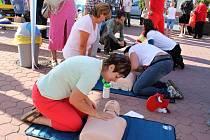 Světový den první pomoci v Jičíně.