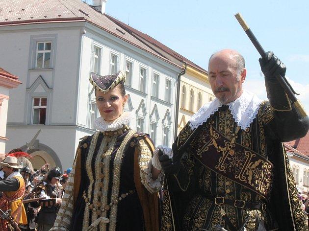 Valdštejnské slavnosti vJičíně vypuknou 18.až 20.května.
