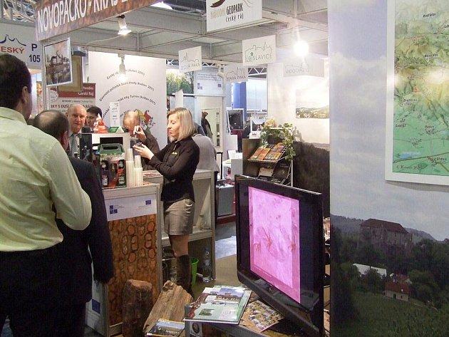 Prezentace Novopacka na Regiontouru Brno.