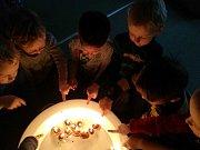 Děti si užily Vánoce i ve školce.