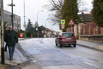 Bělohradská ulice T.G. Masaryka, březen 2009.
