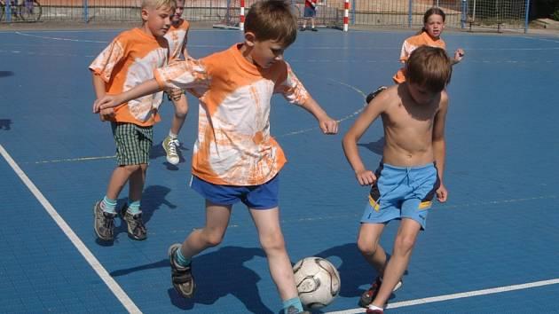 Na jičínském házenkářském hřišti se uskutečnil turnaj mateřských škol.