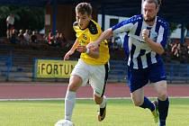 Krajský přebor ve fotbale: SK Jičín - FK Chlumec nad Cidlinou.