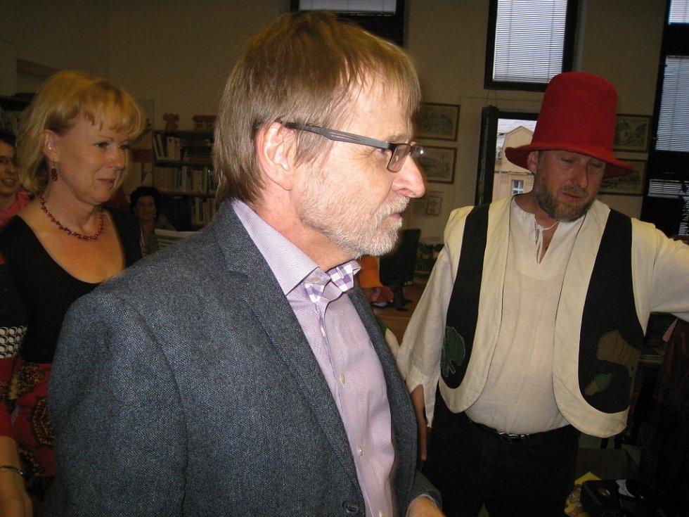 Noc s Andersenem v jičínské knihovně.