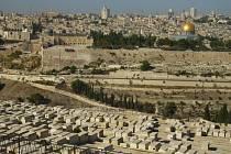 Celkový pohled na Jeruzalém.