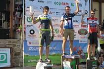 Z vyhlášení na sedmém ročníku MTB maratonu horských kol.