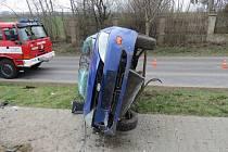 Nehoda fordu u Popovic.