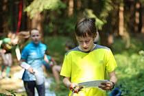 Do lesa o víkendu vyrazilo přes 1100 závodníků všech věkových kategorií.
