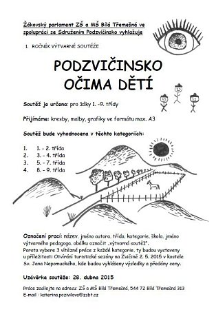 Soutěž Podzvičinska.