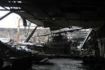 Hořická Mileta po požáru.