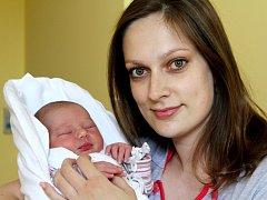 PATRICIE PATKOVÁ se na svoji maminku poprvé usmála 24. dubna. Narodila se s porodními mírou 50 cm a váhou 2,98 kg rodičům Jitce a Martinu Patkovým. Doma v Jičíně svoji sestřičku vyhlíží šestiletý bratříček Kubík.