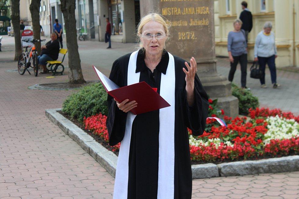 Jičín si připomněl výročí upálení Mistra Jana Husa.