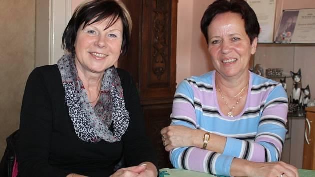 Hana Krásenská (vlevo) a Eva Černochová.