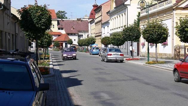 Bělohradská Lázeňská ulice.