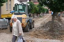 Libáňská Školní ulice.