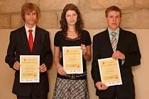 Nejlepší studenti, vítězové soutěže z roku 2012.