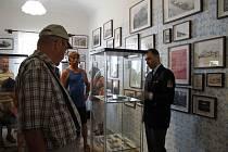 Slavnostní otevření muzea legionářů na Pecce.