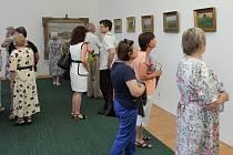 Bělohradská výstava obrazů Františka Kavána s připomínkou výročí úmrtí K. V. Raise.