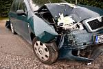 Řidiči se s chladnou hlavou domluvili a policisty k nehodě nevolali.