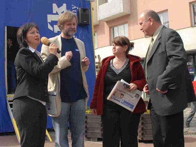 Pozván byl i starosta Martin Puš.