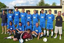Mužstvo FC Rento Jičín.