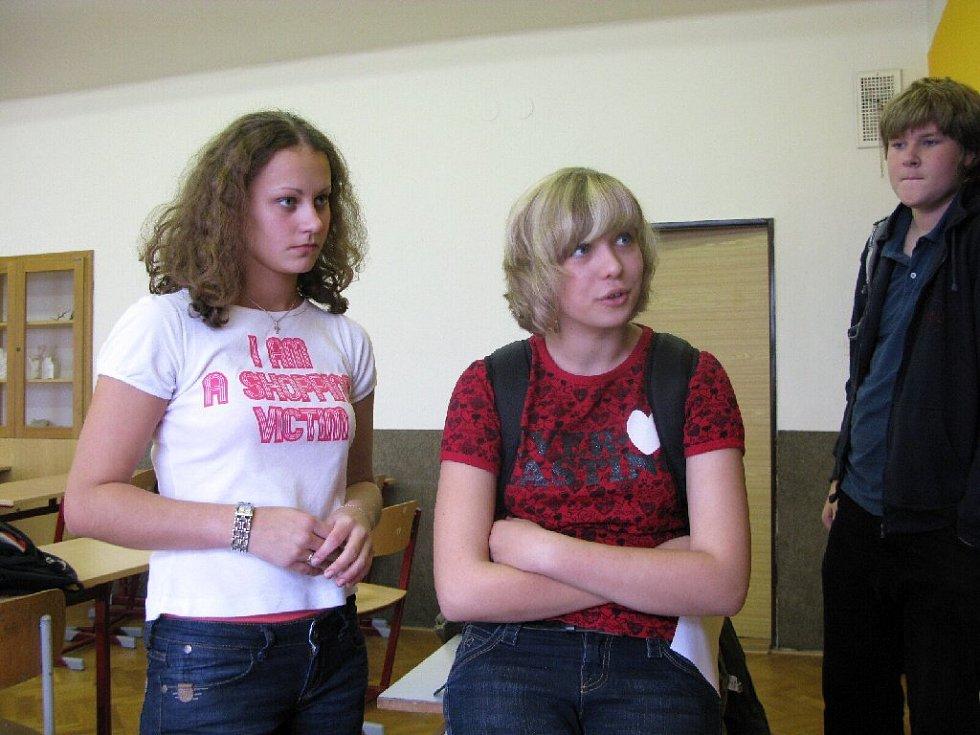 Z hořického gymnázia.