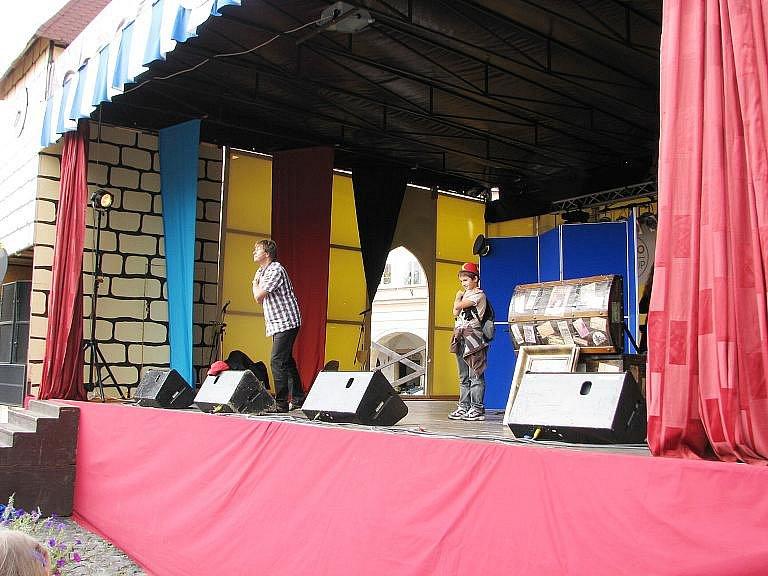 Třetí den pohádkového festivalu.